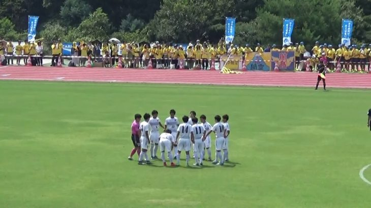 2016年IH サッカー 男子 1回戦 日本航空(山梨)vs  仙台育英(宮城)前半①」