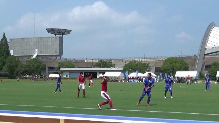 2016年IH サッカー 男子 1回戦 三重(三重)vs 松山工(愛媛)前半①