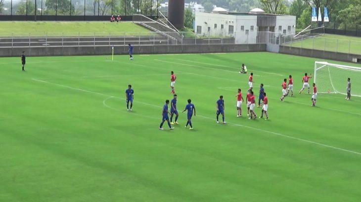 2016年IH サッカー 男子 1回戦 市立船橋(千葉)vs  秋田商業(秋田)前半①