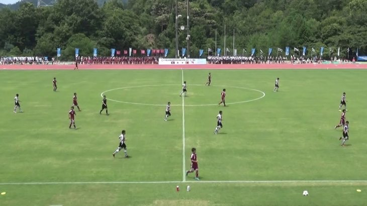 2016年IH サッカー 男子 1回戦 西京(山口)vs 前橋商(群馬)前半①