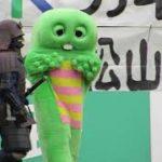 ゆるキャラサッカー(20201129 愛媛FC vs 水戸ホーリーホック ニンジニアスタジアム)