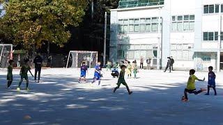 杉並FC vs FC中野しんやま #1 サッカー 練習試合 小学生 U-8 2020/11/15