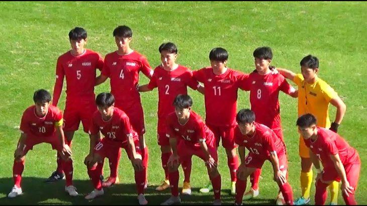 【激闘 ! !】東福岡VS九国大  高校サッカー福岡県決勝