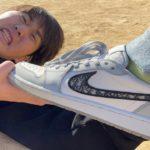 友達の100万円の靴を勝手に履いてサッカーしてみた【ドッキリ】