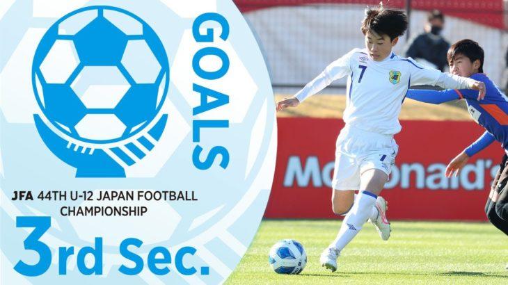 1次ラウンド第3節ゴール集(ピッチ1~ピッチ4)   JFA 第44回全日本U-12 サッカー選手権大会