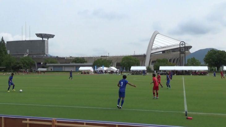 2016年IH サッカー 男子 準々決勝 瀬戸内(広島)vs  市立船橋(千葉)前半①