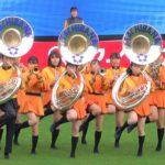 京都橘高校吹奏楽部のマーチングライブ「女子サッカー皇后杯決勝戦ハーフタイムショー」(2020年12月29日 サンガスタジアム) | Kyoto Tachibana SHS Band