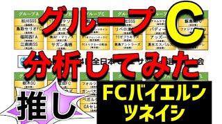 【JFA】第44回全日本U−12サッカー選手権大会 グループC分析してみた