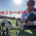 「芝生でトレーニングの日」プロサッカー選手を目指す大学生の1日