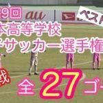 第29回全日本高校女子サッカー選手権大会【2回戦】全27ゴール【ゴール集・PK戦】