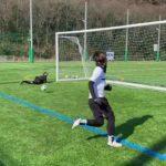 【サッカー】壁当てPK対決したらエグい弾道連発してわろた。#サッカー#PK