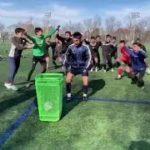 日本大学サッカー部、#atarimaeni プロジェクト参加します!!
