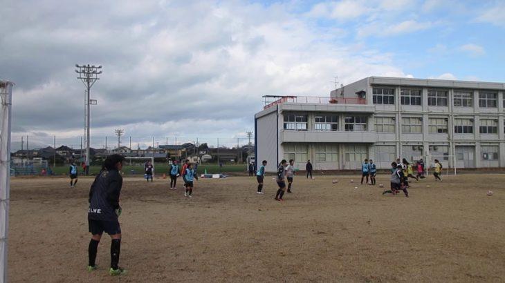 全国女子サッカー高校選手権 遠征前の新潟でのトレーニング いよいよ明後日開幕
