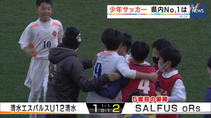 NTT西日本グループカップ 少年サッカー静岡No 1決勝戦