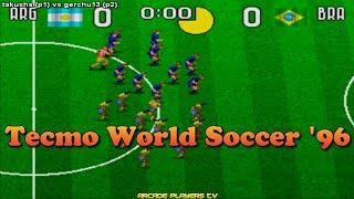 Tecmo World Soccer '96 ➤ takusha (Argentina) vs gerchu13 (Argentina)