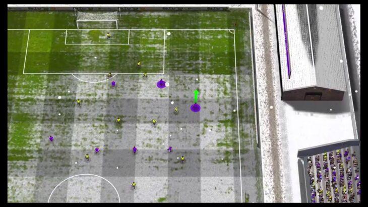 #8 【ミスって声なし】無名サッカーゲームでクラブ経営始めました