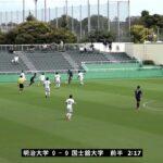 JR東日本カップ2018 第92回関東大学サッカーリーグ戦《後期》1部第13節