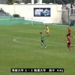 JR東日本カップ2018 第92回関東大学サッカーリーグ戦《後期》1部第19節