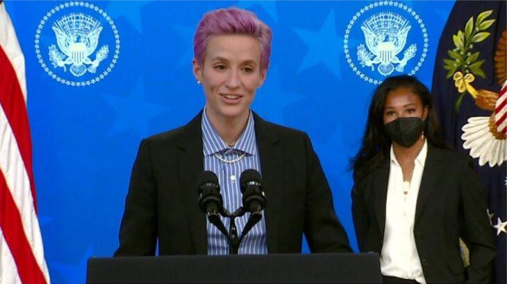 「低評価、軽視、拒絶」 米女子サッカー代表のラピーノ氏が男女同一賃金訴え
