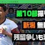 シーズン1/4経過! 名良橋さんと第10節振り返り|#週刊J2 2021.04.27