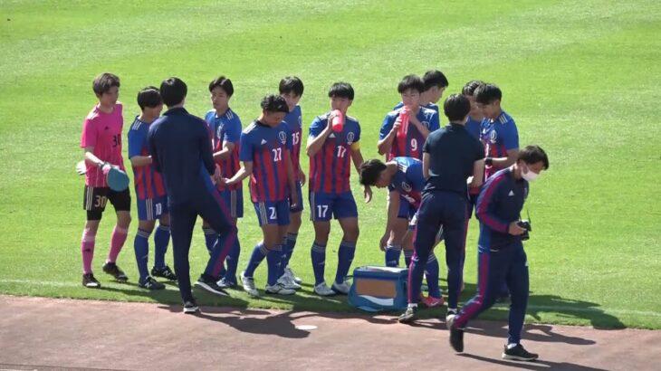 関東大学サッカー2021リーグ戦前期第2節、順天堂大学vs慶應義塾大学《序盤》