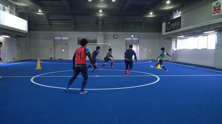 【サッカー練習メニュー】4対2脱出(Sufu)