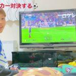 #大家族#サッカーゲーム#6男4女 長男次男サッカー対決それだけの動画!