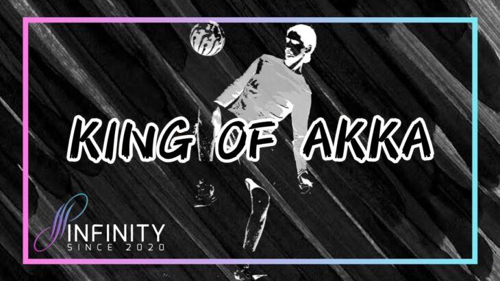 【KING OF AKKA】ストリートサッカーの技 「AKKA」に特化した大会 highlight