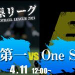 【高校サッカー】福岡第一 vs One SoulB 福岡県リーグ3部