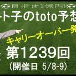 第1239回 toto 予想 Jリーグ サッカーくじ トト子のtoto予想