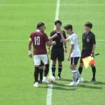 関東大学サッカー2021リーグ戦前期第6節、早稲田大学vs駒澤大学《序盤》