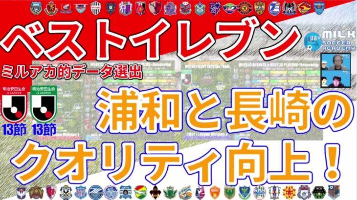 GK鈴木彩艷の成長は浦和サポのみならず、日本代表全体にとっても嬉しいね* ベストイレブンJ1&J2第13節
