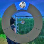 TNティナはサッカーボールをターゲットに当てる。【フォートナイト 472】