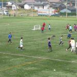 各学科で交流サッカーがおこなわれています! サッカーができる幸せですね!!!