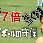 オフザボールの個人守備【サッカー原理原則】