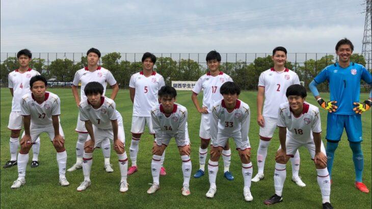 【ハイライト動画】 2021年度関西学生サッカーリーグ 第9節 vs甲南大学 (1-0)
