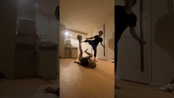 サッカー素人3人がバカっこいい動画撮ってみた #Shorts