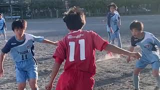 【U-15】町田JFC  vs  VIGORE【ドリブルサッカーを極める!】/東京都2部リーグ 2021.04.18
