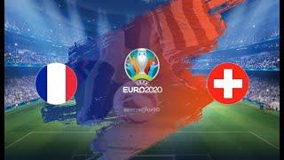 【UEFA EURO2020】フランス🇫🇷 vs スイス🇨🇭 ヨーロッパ最強国を決める4年に一度の祭典ついに始まる!!!!【決勝トーナメント】生放送サッカー観戦雑談!!!