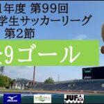 【全ゴール集】 2021年度 第99回 関西学生サッカーリーグ(前期) 延期分第2節