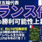 【揉めすぎU24フランス代表】日本代表がスカウティングしすぎなくてもいい理由