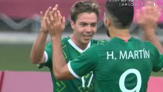 【オリンピック U24サッカー】Aグループ もう一つの試合はメキシコがフランスを4-1で圧倒! サッカーオリンピック U24日本代表 南アフリカ フランス メキシコ