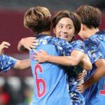 【五輪連続写真】サッカー女子・岩渕真奈のゴール