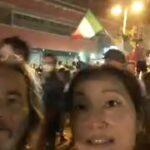 サッカー優勝後のイタリアの街の様子
