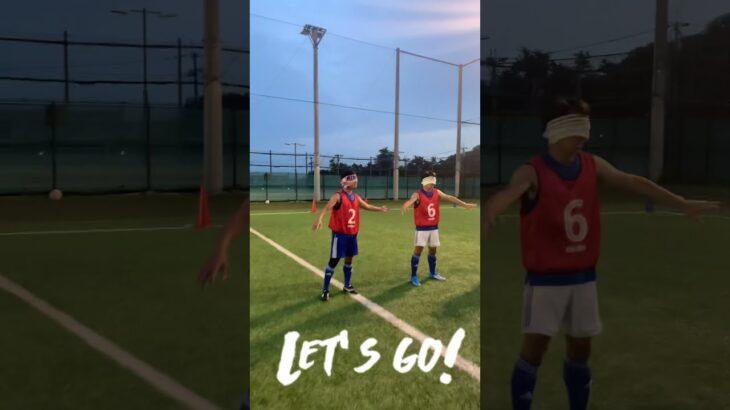 【活動風景】ブラインドサッカーやってみた!!