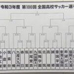 第100回全国高校サッカー選手権 福岡大会組合せ抽選会(9/17金) *映像は30:05から流れます