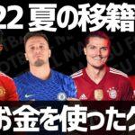 【欧州サッカー】2021年夏の移籍市場最もお金を使ったクラブ TOP20【ランキング】