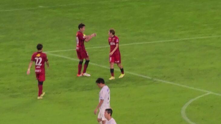 20210918 鹿島アントラーズvsガンバ大阪 接種証明書マッチ! サッカーを知ってるチームのショートカウンターのお手本。数的優位、下がりながらDFさせる、ガンバにはできない攻撃土井決めて3-0