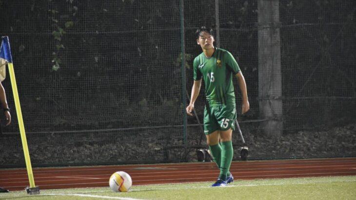 東京都大学サッカーリーグ22節明治学院大学vs東京農業大学 前半