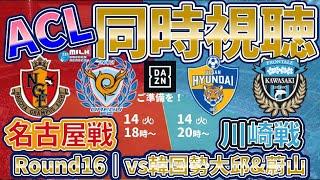 【ACL同時視聴】名古屋グランパスvs大邱FC&蔚山現代vs川崎フロンターレ│DAZNを各自ご準備を!